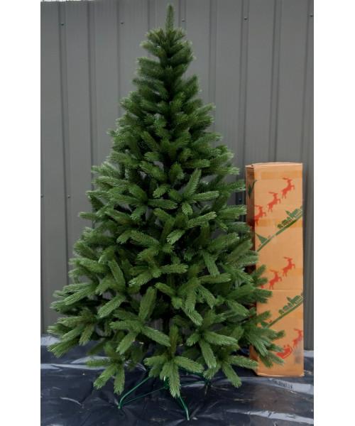 Елка искусственная Буковельская зелёная литая 1,8 м