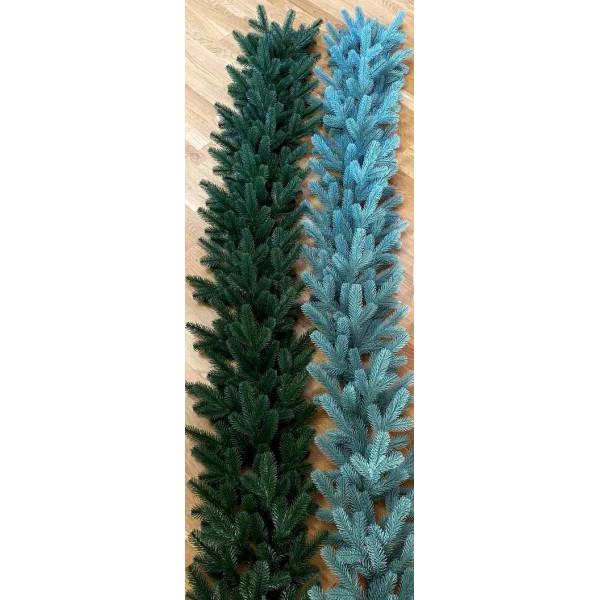 Хвойная литая голубая гирлянда 2 м ,30 см в диаметре