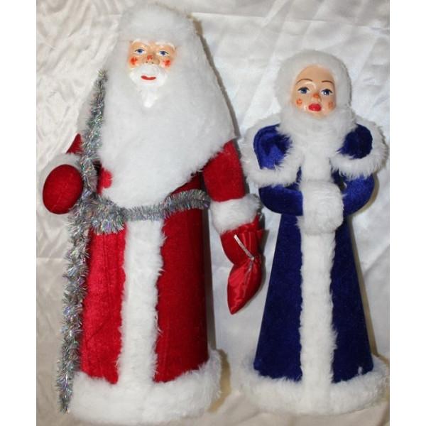 Комплект Дед Мороз и Снегурочка