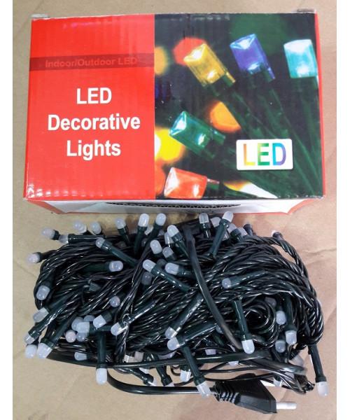 Гирлянда цветная 4 цвета на 140 лампочек 8 функций 4 м Г-132